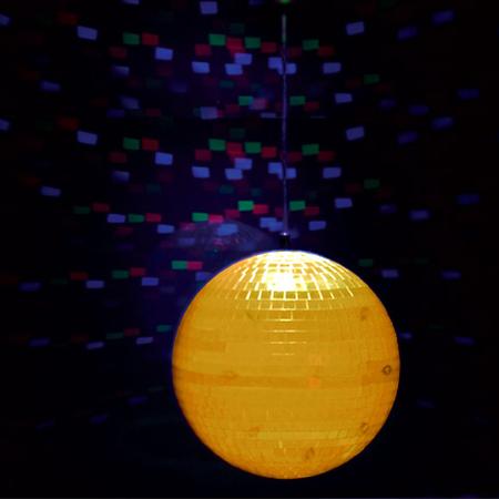 Glob disco pvc iluminat 8