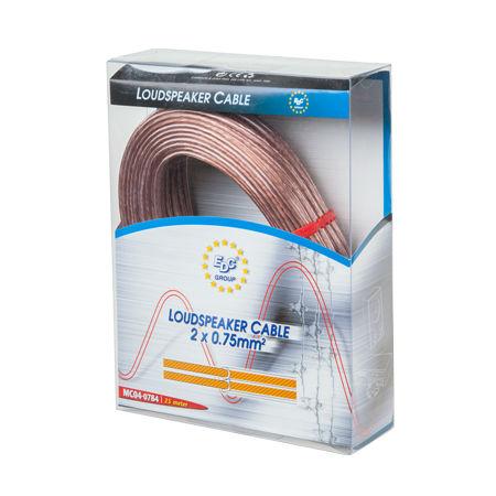 Cablu difuzor transparent 2x1.5mm2 25m blister