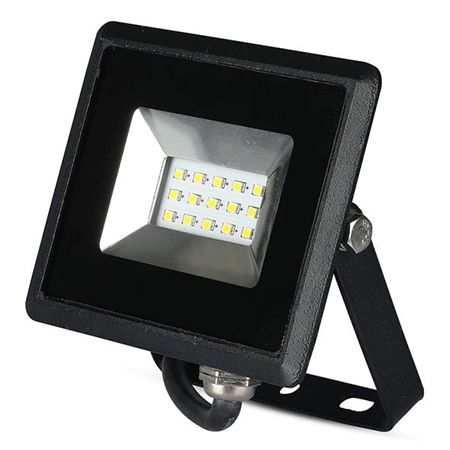Reflector led smd 10w 3000k ip65 - negru