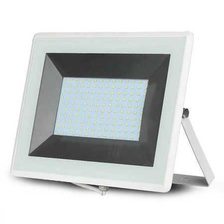 Reflector led smd 100w 6500k ip65 alb