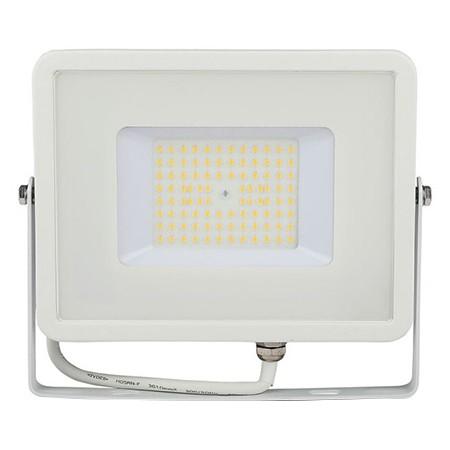 Reflector led smd slim 50w 120lm/w 6400k ip65 alb, cip samsung