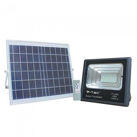 Reflector led 16w 6000k cu incarcare solara