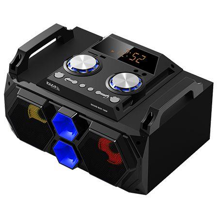 Sound box 5w rms usb/sd/bt/fm/aux iluminat led
