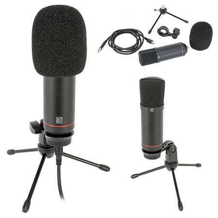 Microfon usb pentru streaming si podcast
