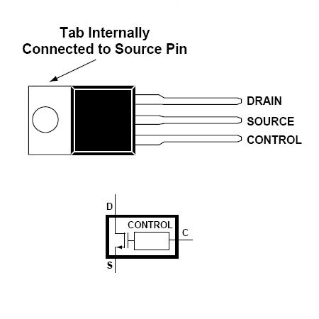 Comutator pwm 3 terminale top223y