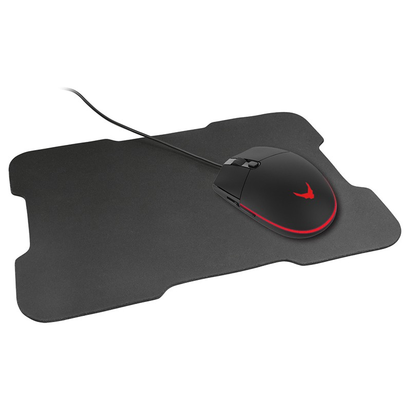 Set mouse gaming 3200dpi + mousepad