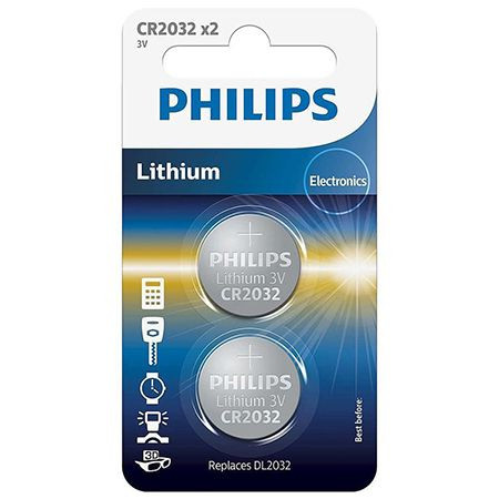 Baterie cr2032 blister 2 buc philips