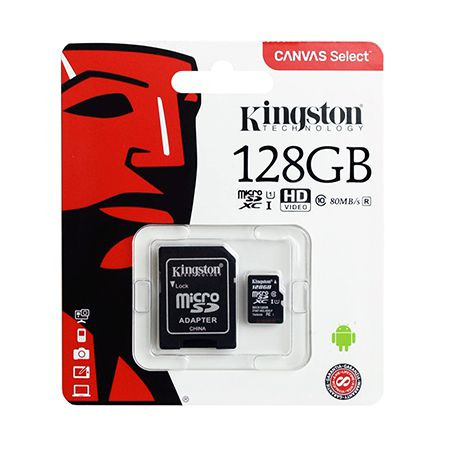 Micro sd card 128gb class 10 kingston