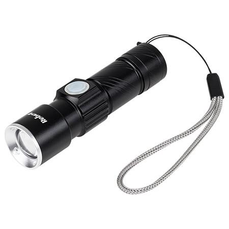 Lanterna aluminiu led 3w 3.7v 350mah vipow