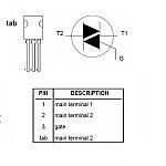 TRIAC 600V 4A