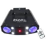 EFECT MONFLOWER LED RGBW + STROBOSCOP + LASER