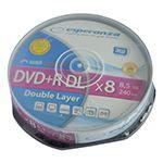 DVD+R DOUBLE LAYER 8.5GB 8X CAKE 10 ESPERANZA