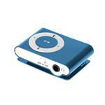 MP3 PLAYER ALBASTRU