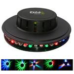 LUMINA LED UFO 48 LED-URI RGB NEGRU