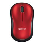 MOUSE OPTIC LOGITECH WIRELESS M185 ROSU