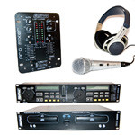 KIT DJ {DCD3000+DJ200+MC2005+HP400}