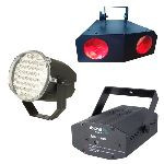 SET HOME LIGHTING (LASER + STROBOSCOP + MOON LED)