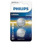 BATERIE CR2032 BLISTER 2 BUC PHILIPS