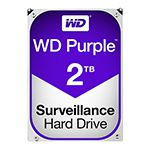HDD 2TB SATA3 64MB PURPLE WESTERN DIGITAL