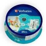 CD-R VERBATIM 700MB 52X PRINTABIL CAKE 25