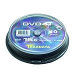 DVD-R TRAXDATA 4,7GB 16X CAKE 10BUC