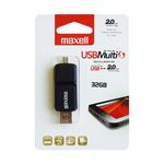 FLASH DRIVE USB 2.0 OTG 32GB BUMBLEBEE MAXELL