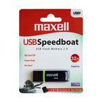 FLASH DRIVE 32GB USB 2.0 SPEEDBOAT MAXELL