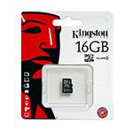 MICRO SD CARD 16GB CLASS 10 KINGSTON