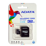 MICRO SD CARD 32GB CU ADAPTOR ADATA