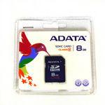 SD CARD 8GB SDHC CLASS 4 ADATA