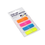 POST-IT 4 CULORI NEON 12X45 160B PLATINET