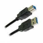 CABLU USB 3.0 A - B 1.8M