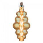 BEC LED G165 E27 8W CU FILAMENT 2200K ALB CALD MODEL S180