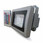 REFLECTOR LED SMD 10W RGB IP65 GRI