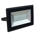 REFLECTOR LED SMD 50W 6500K IP65 NEGRU