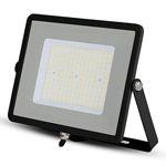 REFLECTOR LED SMD SLIM 100W 120LM/W 6400K IP65 NEGRU, CIP SAMSUNG