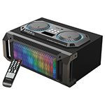 SOUND BOX 2.1 100W RMS USB/SD/BT/FM/AUX ILUMINAT LED