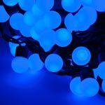 INSTALATIE ILUMINAT FESTIV 100 LAMPI LED ALBASTRU 10M