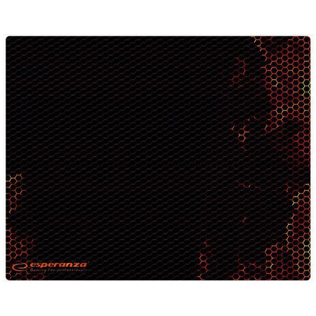 Mouse pad gaming red 25x20