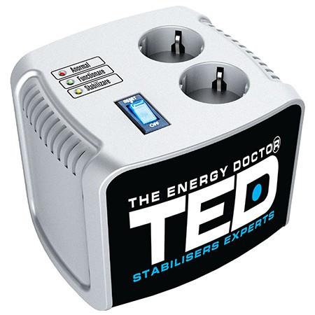 Stabilizator tensiune automat servomotor 1000va ted