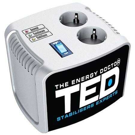 Stabilizator tensiune automat servomotor 500va ted
