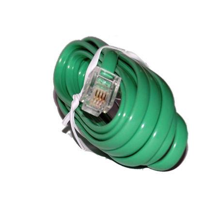 Cablu extensie telefonic verde 2m