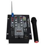 MIXER 2 CAI 5 CANALE + MICROFON VHF