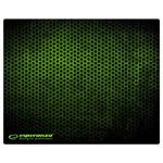 MOUSE PAD GAMING GREEN 40X30
