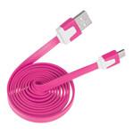 CABLU MICRO USB PLAT ROZ