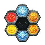 LED RUNNING LIGHT X6 CU MICROFON