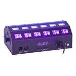 PROIECTOR LED 2 IN 1 ALBE SI UV 24 X 3W CU DMX