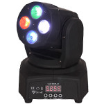 MINI MOVING HEAD RGBW LED 4X10W DMX