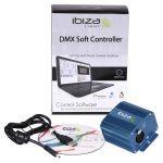 CONTROLLER DMX 512 CANALE CU SOFT
