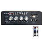 AMPLIFICATOR KARAOKE 2X25W CU BLUETOOTH/USB/SD/AUX SI TELECOMANDA